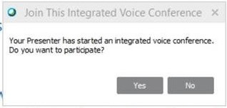 Webex - Integrated Voice Conference V2